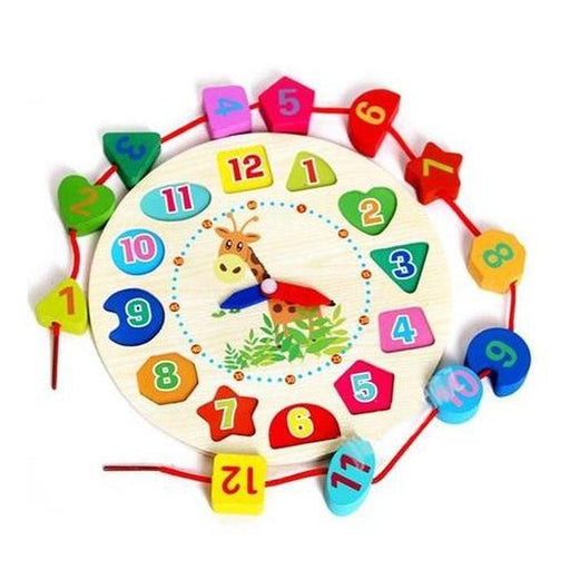Kids Wooden Clock Toy | Shop Online | Snatcher