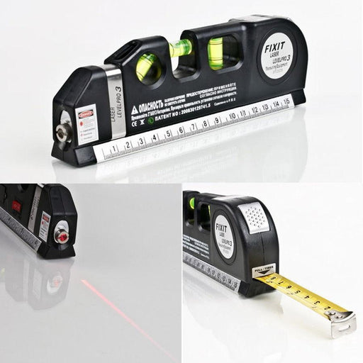 Level Laser 2.5M Measuring Tape | Shop Online | Snatcher