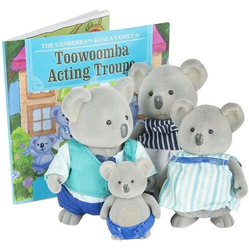 LI'L WOODZEEZ KOALA FAMILY + STORYBOOK | Shop Online | Snatcher