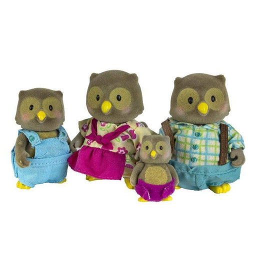 Lil' Woodzeez - The Whooswhoo Owl Family | Shop Online | Snatcher
