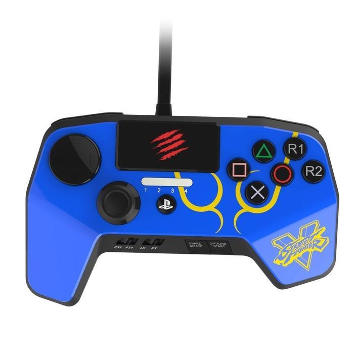 Madcatz Controller Blue - PS3/PS4 | Shop Online | Snatcher
