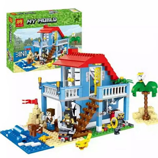 3-in-1 Beach Fortress Building Blocks