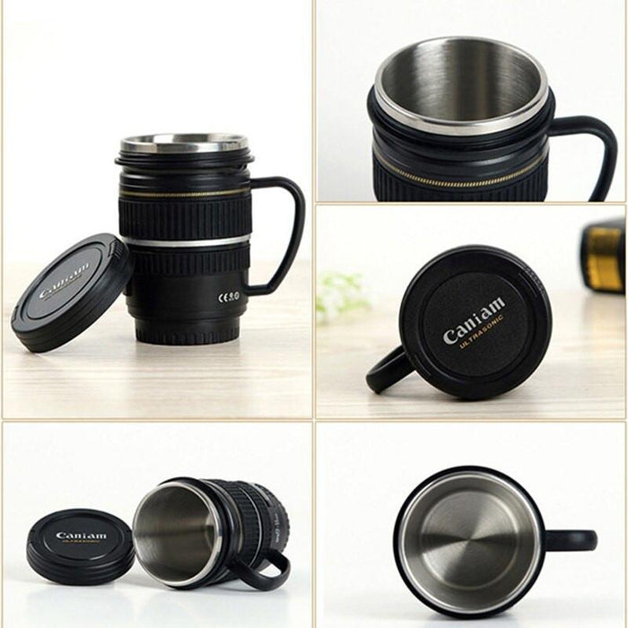 Mini Camera Lens Mug | Shop Online | Snatcher