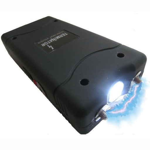 Mini Rechargeable Stun Gun With LED Flashlight | Shop Online | Snatcher