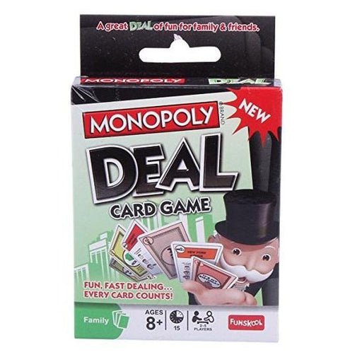 Monopoly Deal Card Game | Shop Online | Snatcher