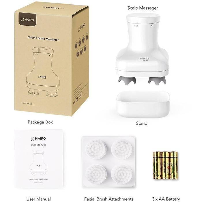 Naipo Electronic Scalp Massager | Shop Online | Snatcher