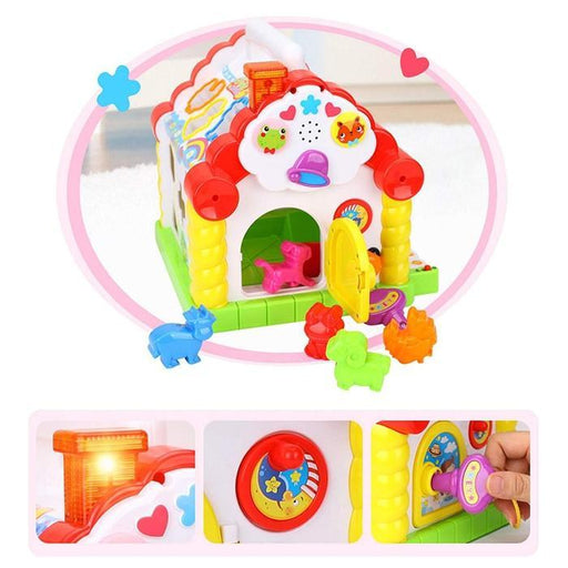 Nuovo - Activity House Shape Sorter | Shop Online | Snatcher