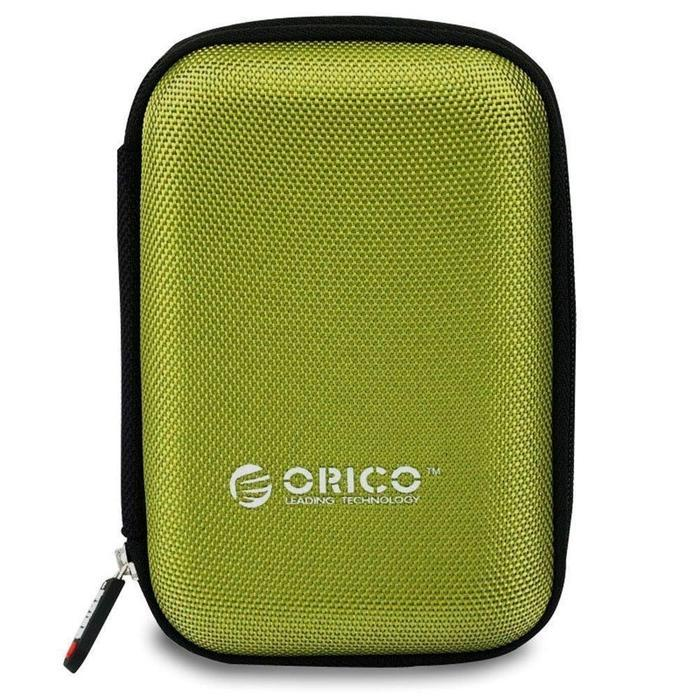 Orico 2.5 Portable Hard Drive Protector Bag Green | Shop Online | Snatcher
