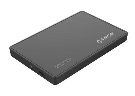 Orico 2.5 USB3.0 USB-C External Hard Drive Enclosure Black | Shop Online | Snatcher