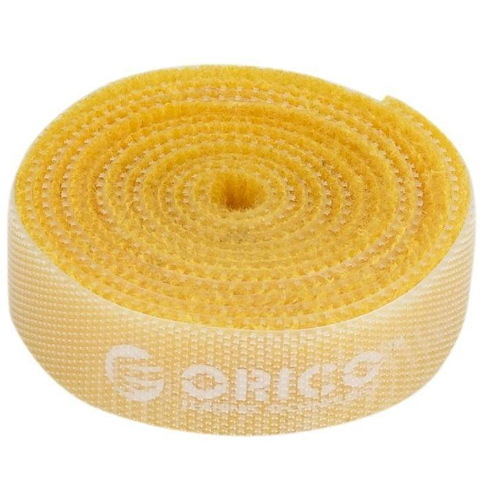 Orico velcro cable ties 1m Yellow | Shop Online | Snatcher