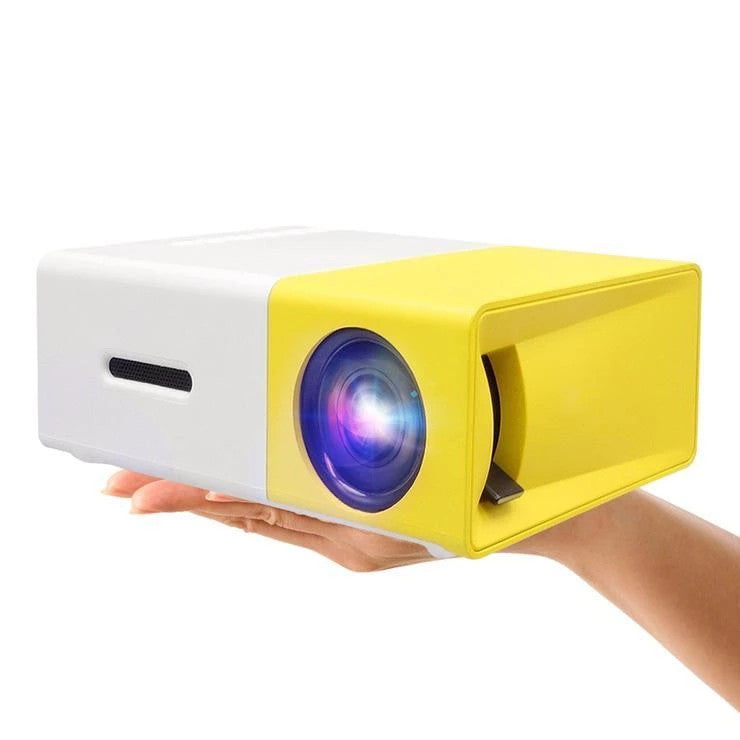 Mini Yellow Portable Led Projector Buy Online