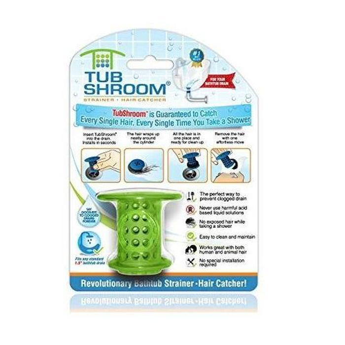 Pack Of 2x TubShroom Drain Hair Catchers | Shop Online | Snatcher