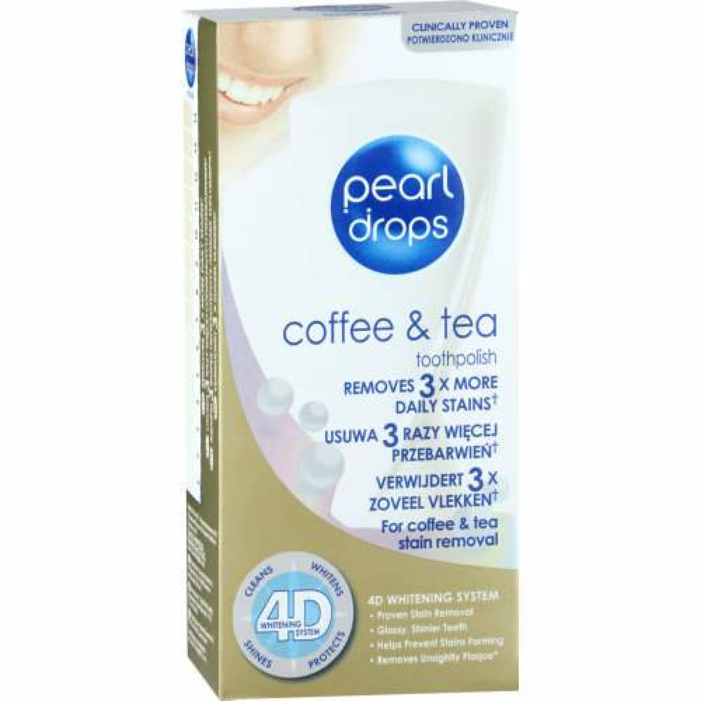 Pearl Drops Toothpaste Coffee And Tea 50Ml Health & Beauty
