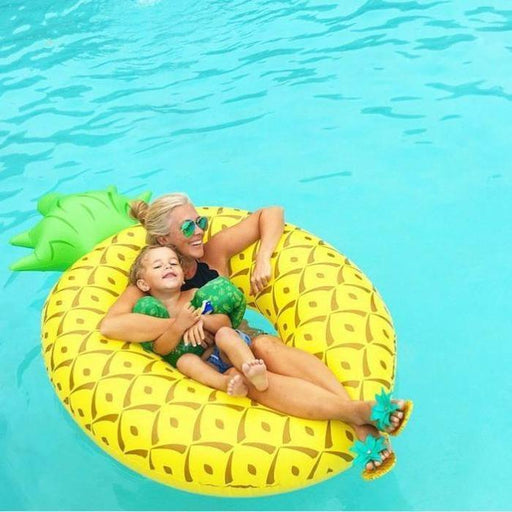 Pineapple Ring Pool Float | Shop Online | Snatcher