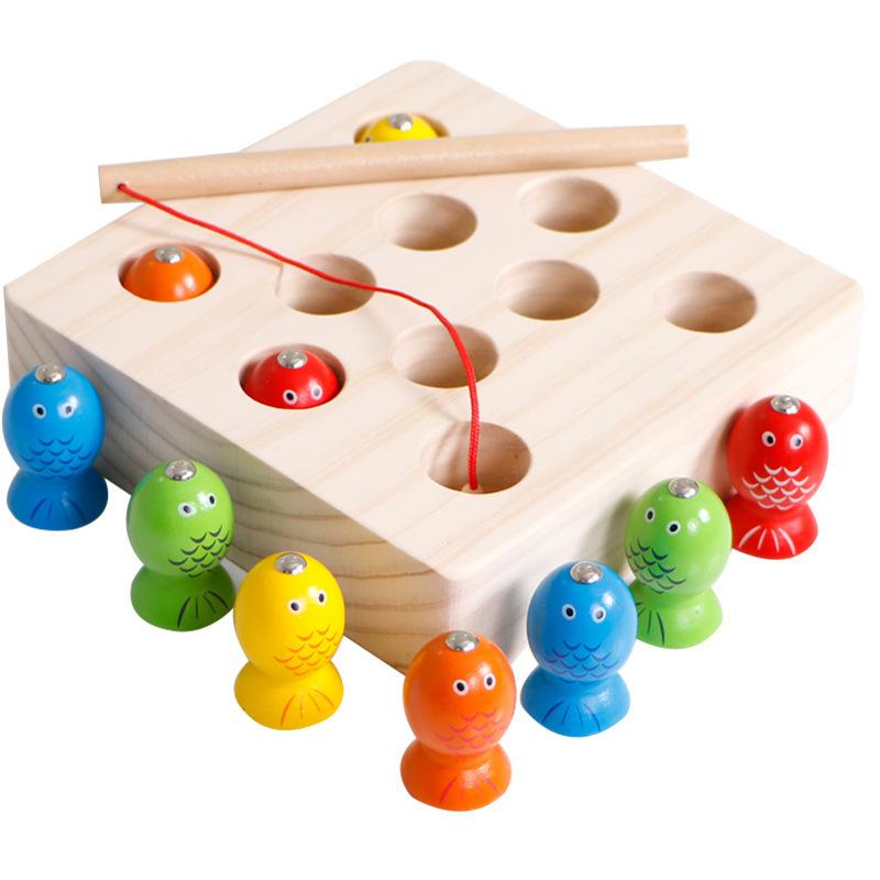 Wooden Fishing Toy Game