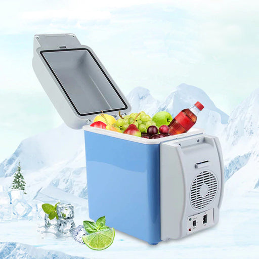 Portable Car Refrigerator Cooler / Warmer 7.5L Capacity