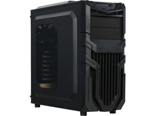 Raidmax Vortex V5 Blue LED Window (GPU 390mm) ATX Gaming Chassis Black | Shop Online | Snatcher