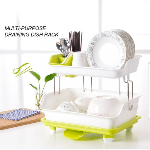 2 Layer Multipurpose Dish Rack
