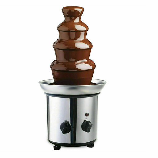 4-Layered Chocolate Fondue Fountain