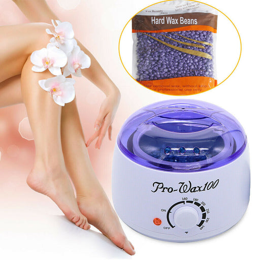 Combo: Home Waxing System + Hard Wax Beans