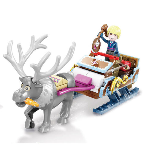 Reindeer Sleigh Building Blocks