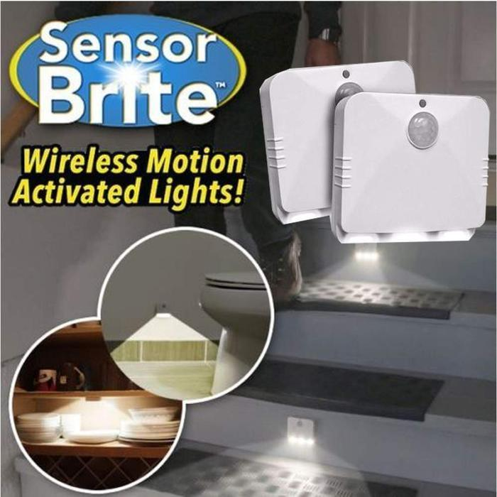 Sensor Brite Motion Activated LED Lights (2-Pack) | Shop Online | Snatcher