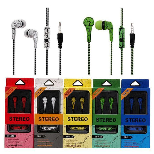 SF-A12 In-Ear Stereo Earphones | Shop Online | Snatcher