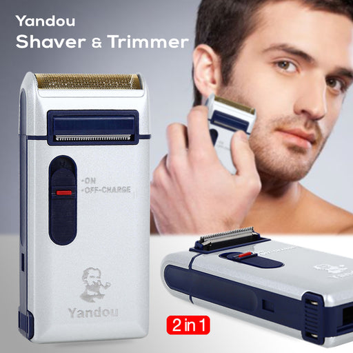 2-In-1 Rechargeable Shaver