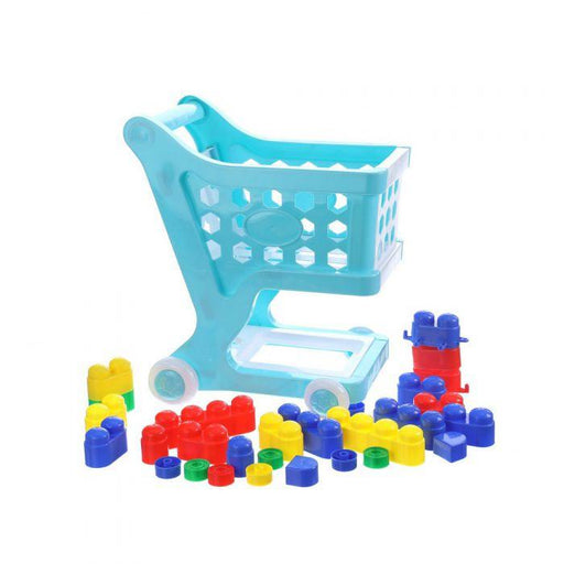 Shopping Cart With Building Blocks | Shop Online | Snatcher