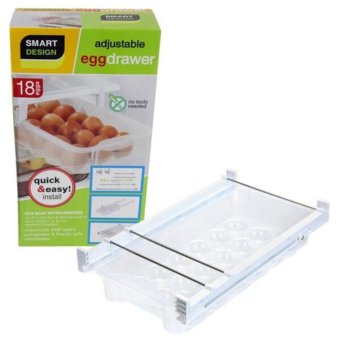 Smart Design Refrigerator Pull Out Egg Drawer | Shop Online | Snatcher