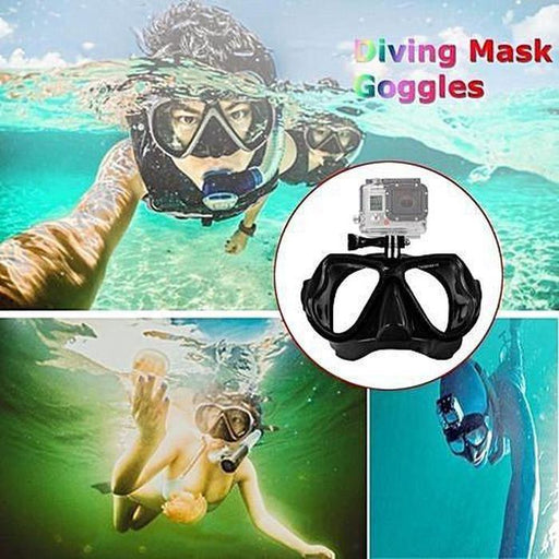 Snorkel Mask With Camera Mount | Shop Online | Snatcher