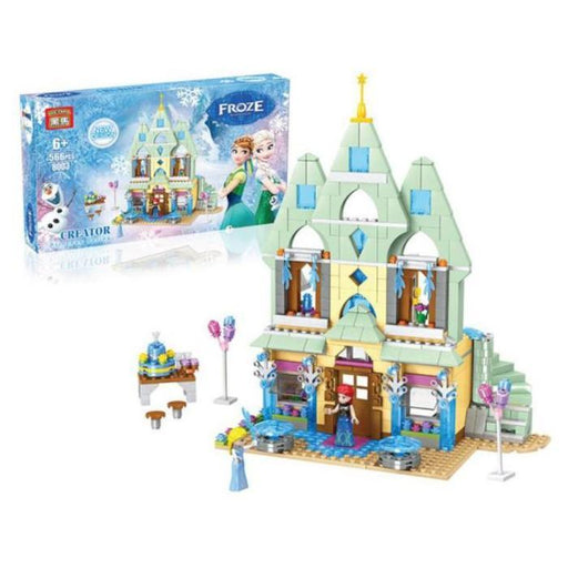 Snow Princess Castle Building Blocks | Shop Online | Snatcher