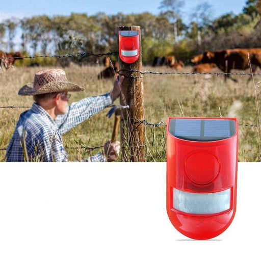 Solar Powered Alarm Lamp | Shop Online | Snatcher