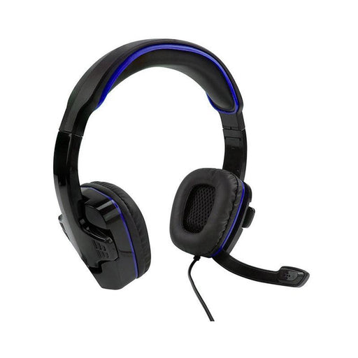Sparkfox PS4 SF1 Stereo Headset Black and Blue | Shop Online | Snatcher