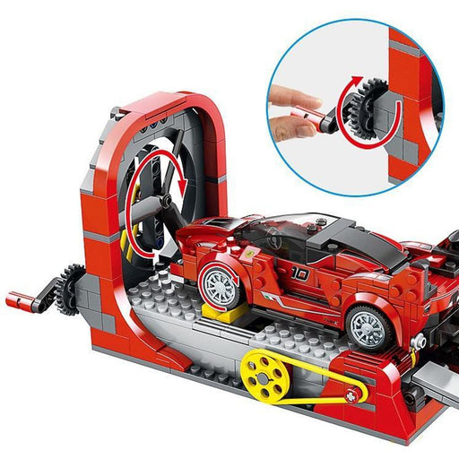 Speed Racer Development Center Building Blocks | Shop Online | Snatcher