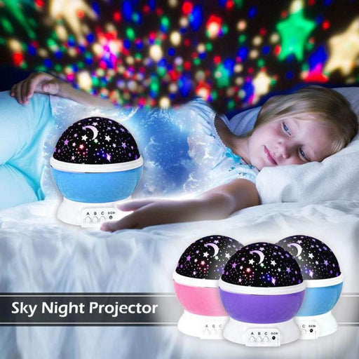 Star Master Rotating Projection Lamp | Shop Online | Snatcher