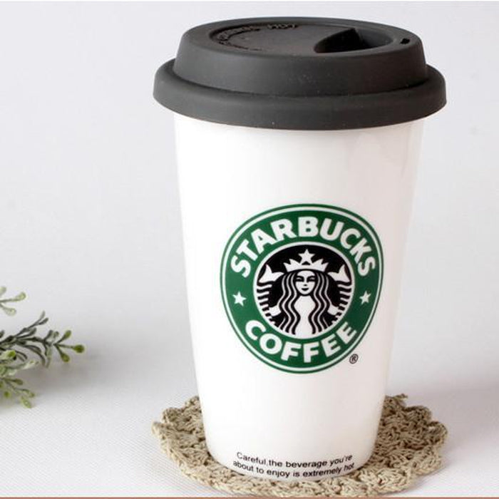 Starbucks Ceramic Cup With Spoon Set | Shop Online | Snatcher