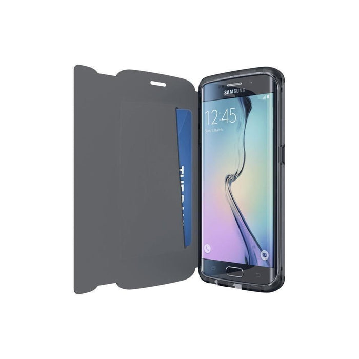 quality design 0fc0a 236ba Tech21 Evo Frame Wallet Samsung S6 Edge Cover (Black)