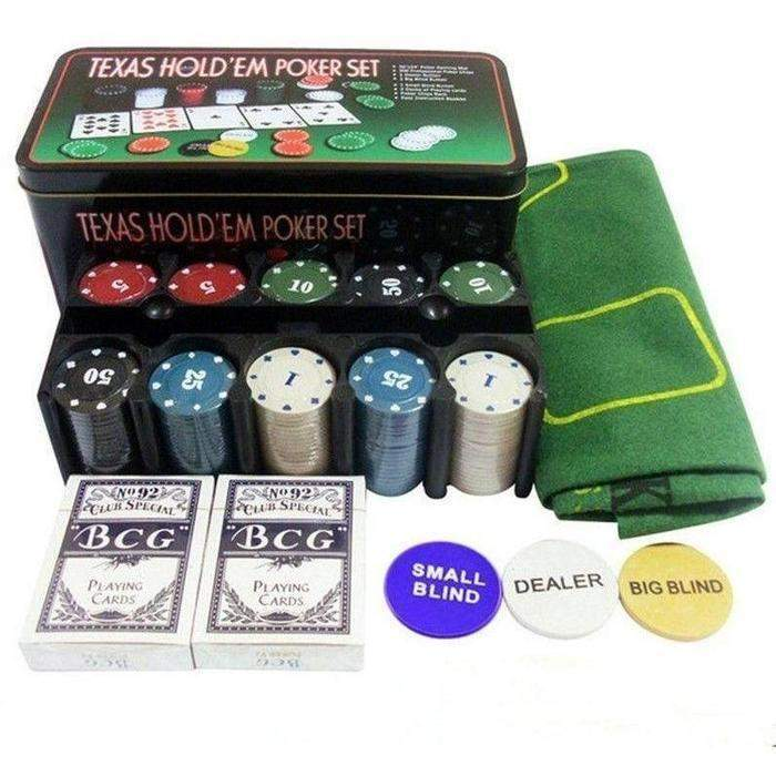 Texas Hold'em Poker Set | Shop Online | Snatcher