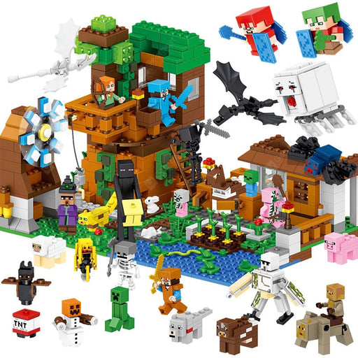 My World 1007 Piece Building Blocks Set
