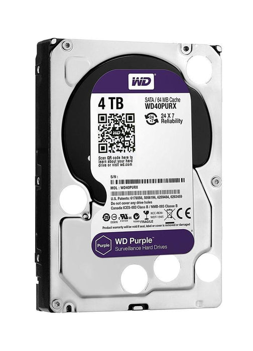 WD Purple 4TB 3.5 SATA 64MB | Shop Online | Snatcher