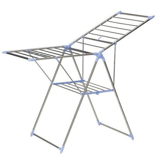 White Metal Foldable Drying Rack | Shop Online | Snatcher