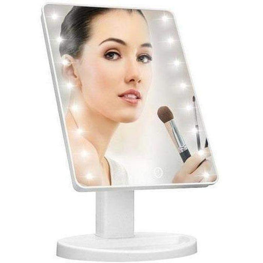 White Touch Screen LED Mirror | Shop Online | Snatcher
