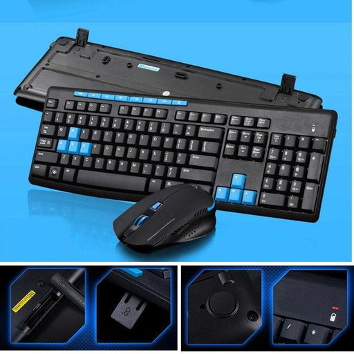 Wireless 2.4GHz Keyboard And Mouse Set | Shop Online | Snatcher