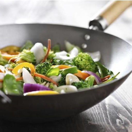 Wok With Wooden Handles | Shop Online | Snatcher