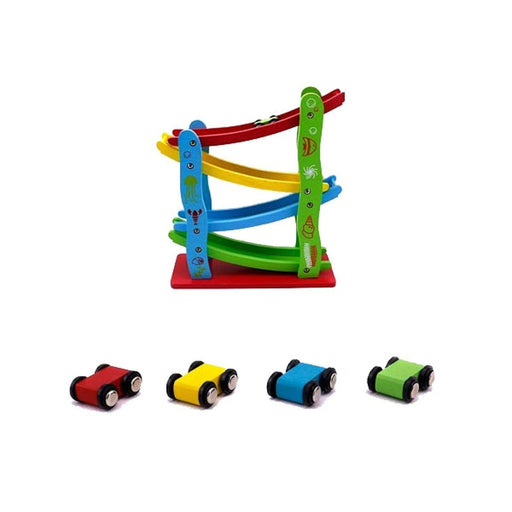 Wooden Miniature Speeding Car Play Set | Shop Online | Snatcher