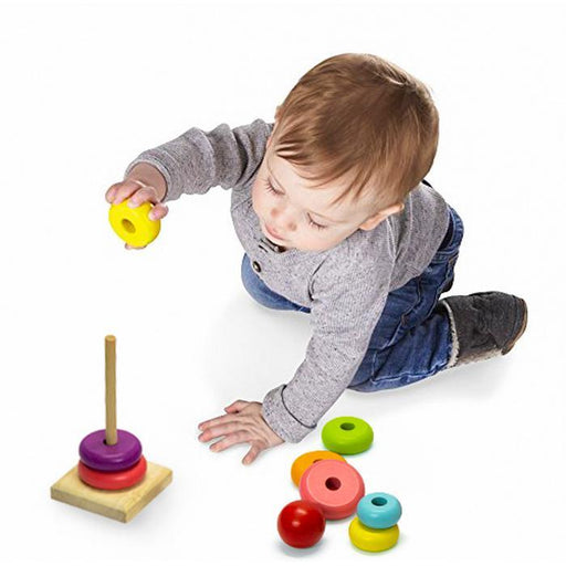 Wooden Stacking Rings Toy | Shop Online | Snatcher