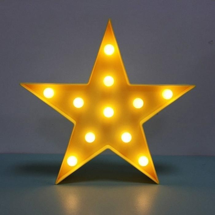 Yellow Star LED Light | Shop Online | Snatcher