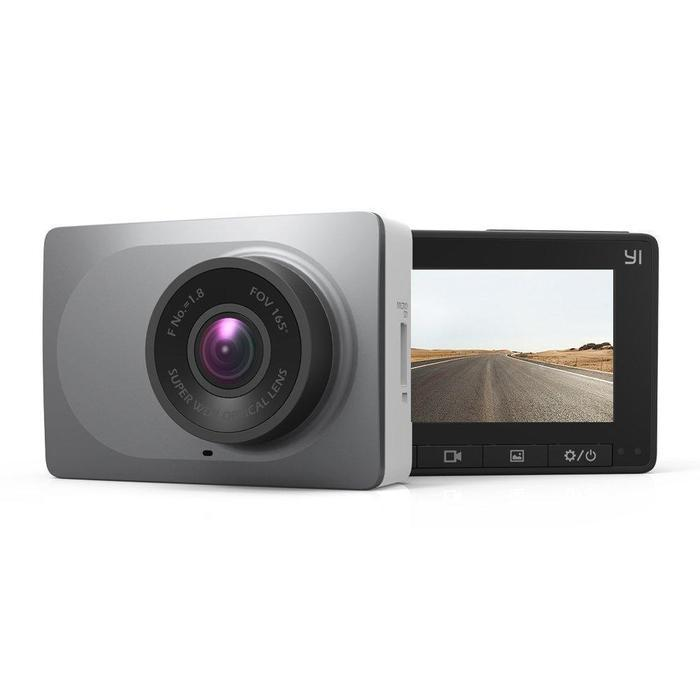 YI Smart Dash 1080P 3MP 165 Micro SD Slot Camera Space Grey | Shop Online | Snatcher