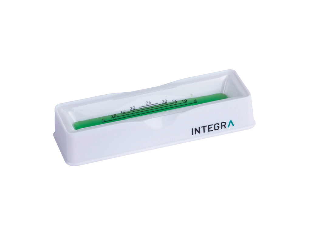 25 ml Polystyrene Reservoir. Users benefit by reusing the sturdy base and tossing the disposable insert.